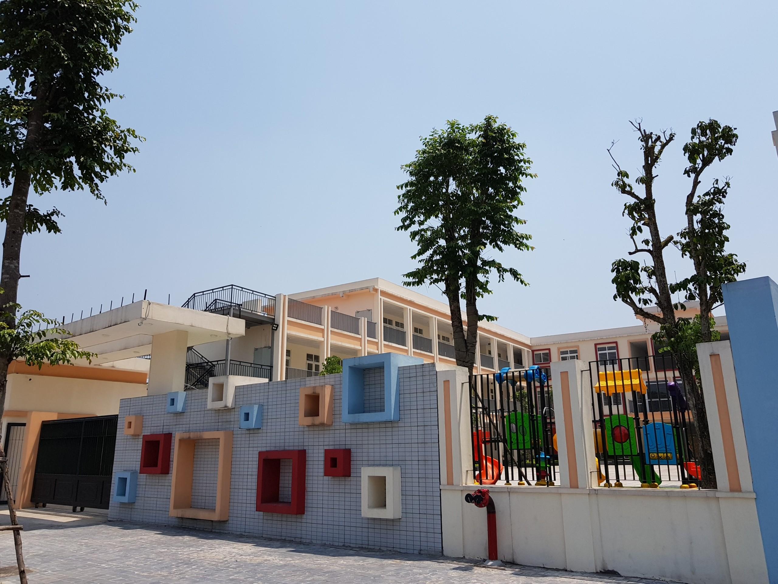 Trường mầm non Quốc tế đã hoàn thiện trong khuôn viên dự án Epic's Home