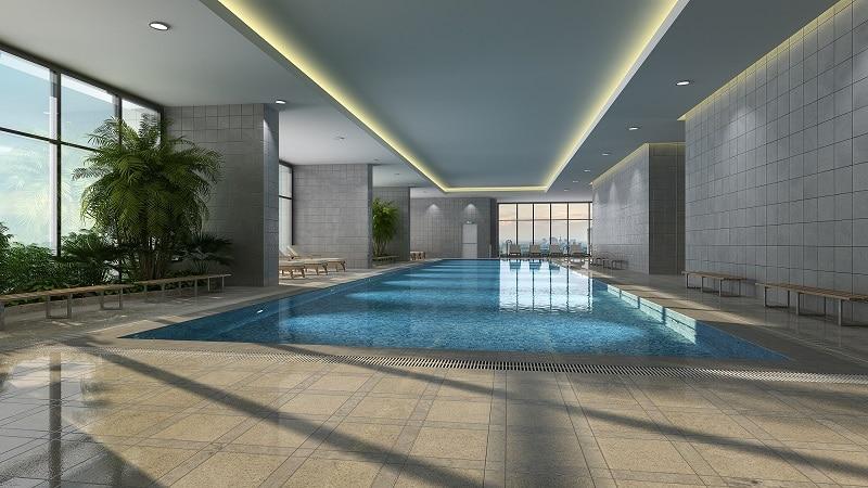 chung cư sun square bể bơi trong nhà