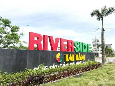 tài tâm riverside cổng dự án