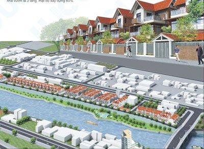 Thiết kế dự án đất nền riverside