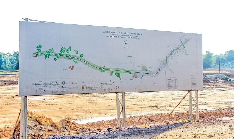 hạ tầng dự án đất nền new horizon city bắc sơn thái nguyên