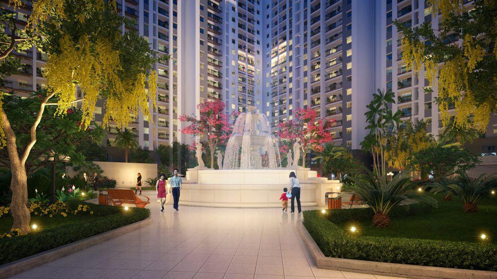 dự án Chung cư Hope Residences về đêm