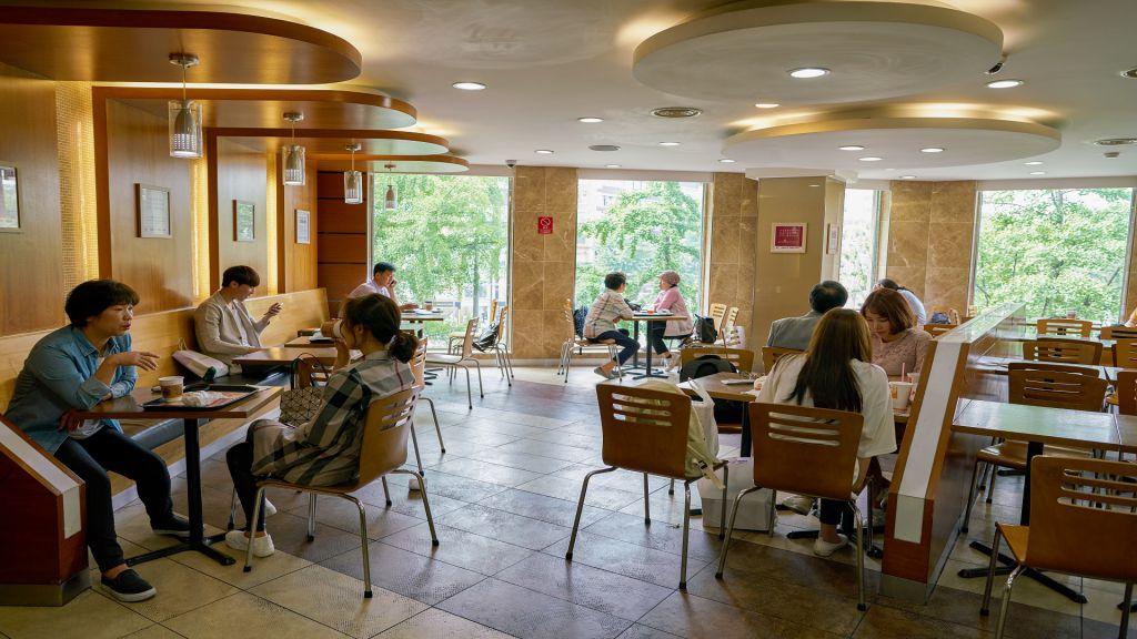 quán cà phê thư giãn