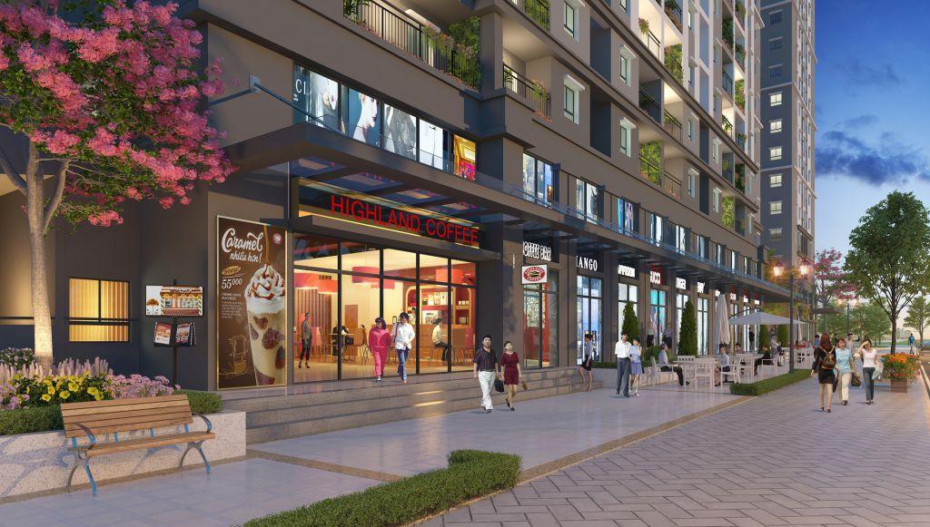 trung tâm thương mại dự án Chung cư Hope Residences