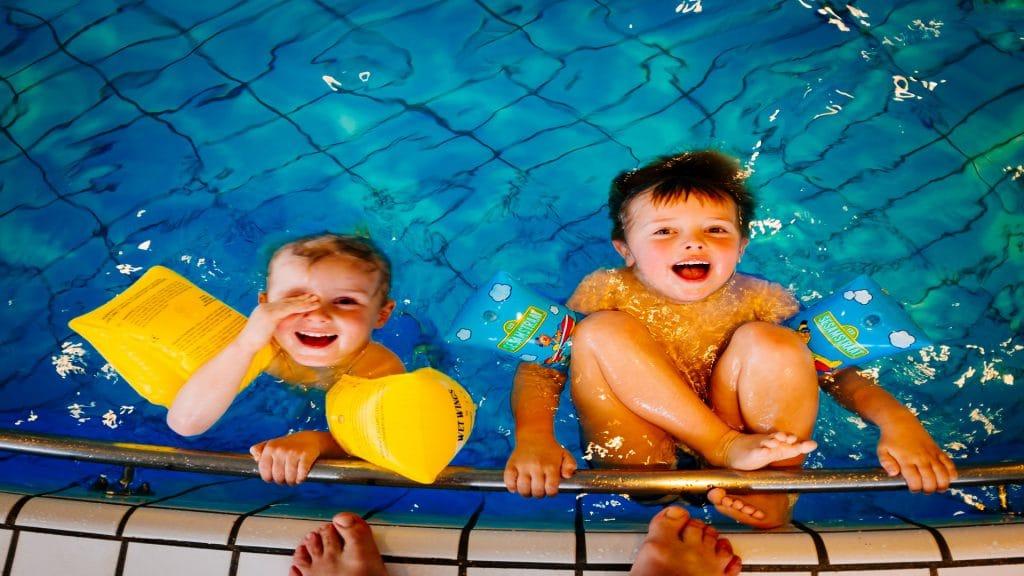 bể bơi tại dự án Chung cư Hope Residences