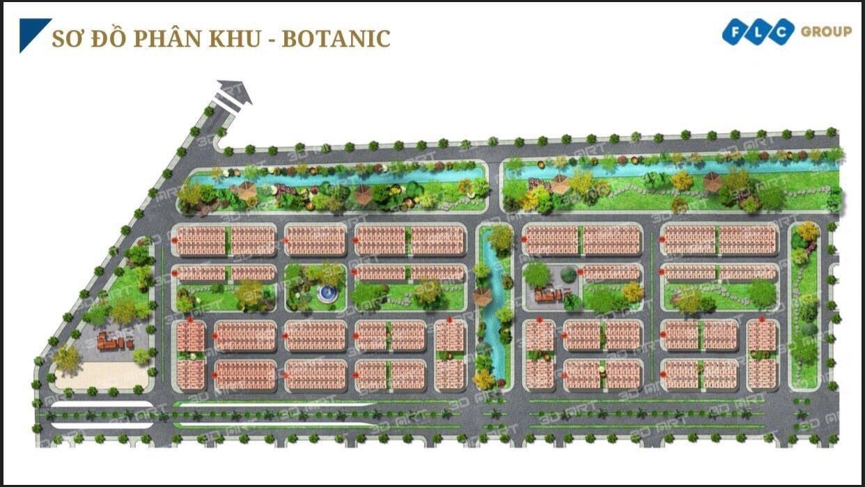 Thiết kế Phân khu Botanic dự án FLC Tropical City