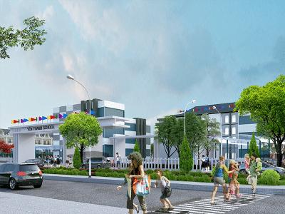 Đất nền Tân Thành Yên Thanh Uông Bí New City cạnh Vincom+