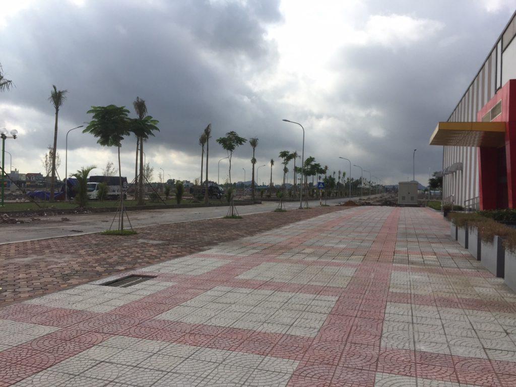 cơ sở hạ tầng giao thông hiện đại dự án đất nền tân thành uông bí new city