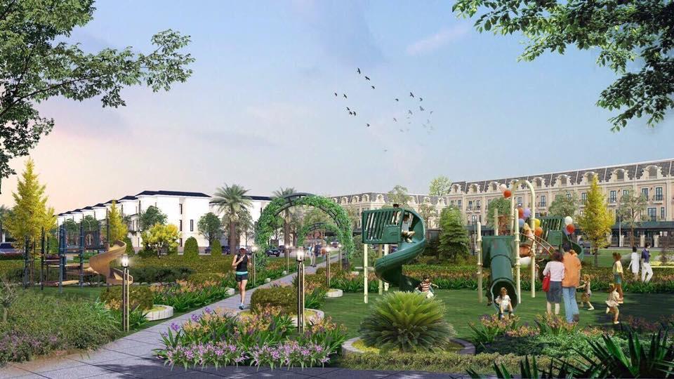 công viên trung tâm dự án đất nền tân thành uông bí new city