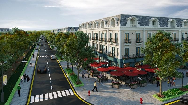 liền kề shophouse dự án đất nền tân thành uông bí new city uông bí