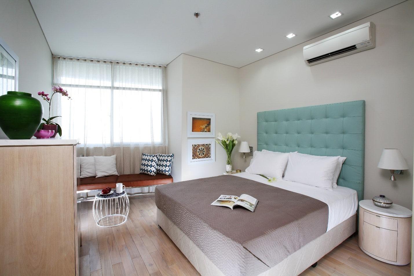nội thất minh họa phòng ngủ dự án vincity đan phượng
