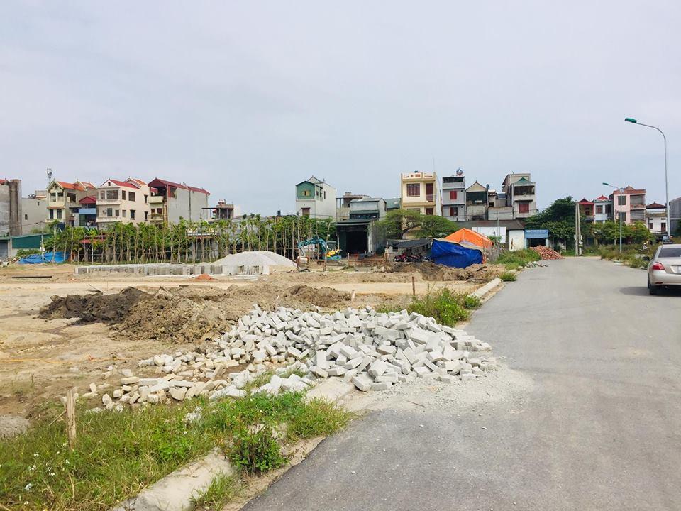 đường nhựa nội khu dự án Liền kề Palado Vạn An Khúc Xuyên