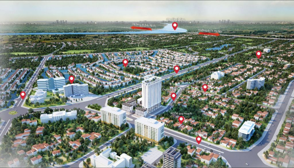 Phối cảnh Dự án TSG Lotus Sài Đồng 2019