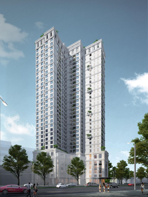 phối cảnh dự án Chung cư Tràng An Home 149 Trường Chinh