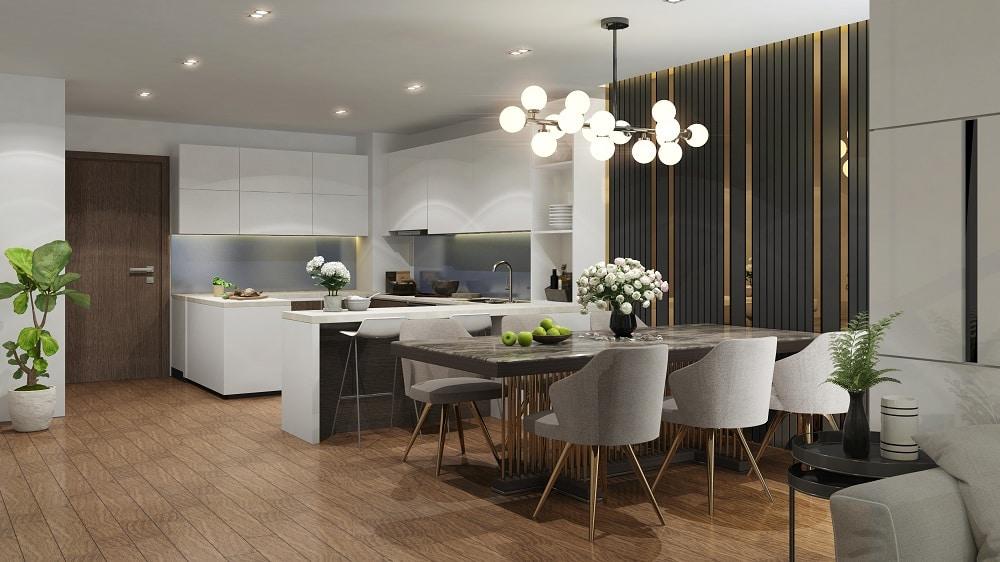 Minh họa nội thất cao cấp Dự án Tràng An Home