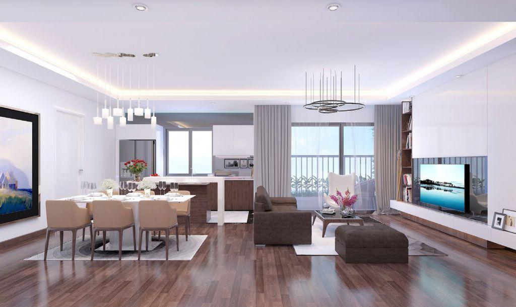 Nội thất cao cấp phòng khách Dự án Imperia Eden Park (tham khảo)