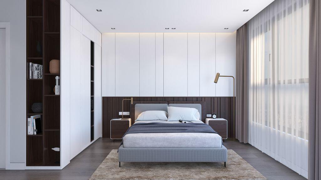 Nội thất cao cấp phòng ngủ 3 Dự án Imperia Eden Park (tham khảo)