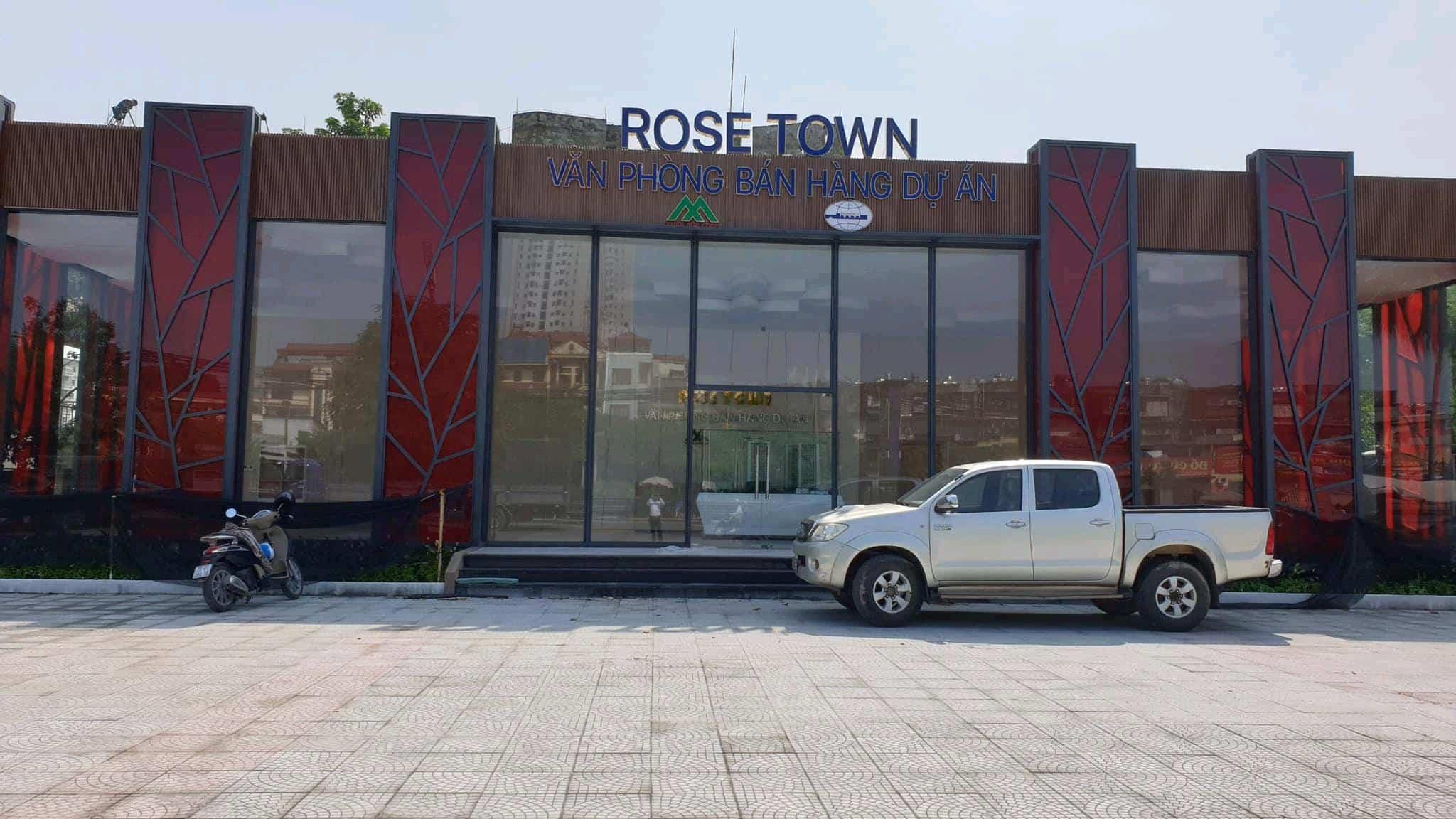 Phòng bán hàng + nhà mẫu Dự án Rose Town kính chào Quý khách