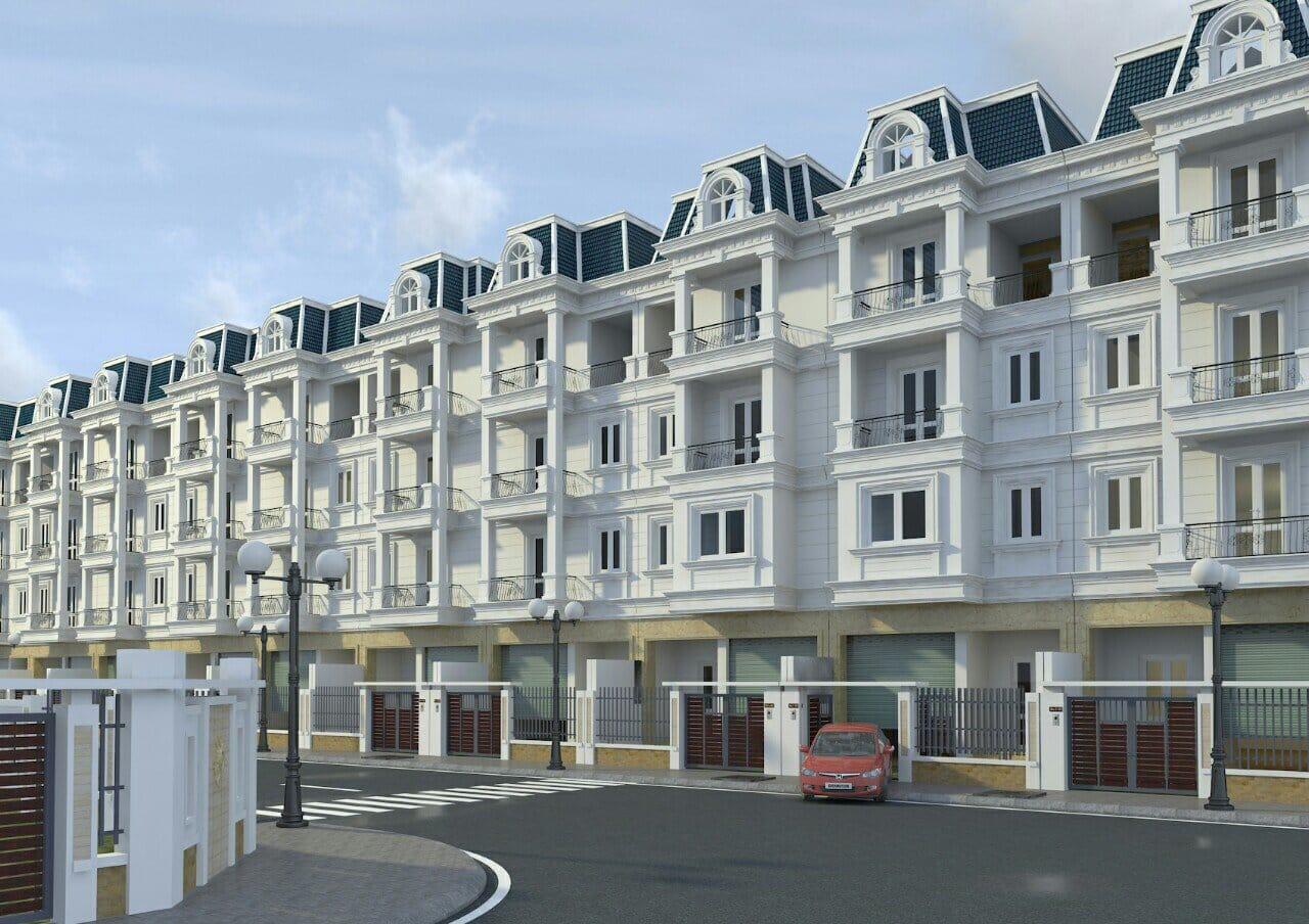 Và 43 lô Liền kề Nhà vườn Dự án Rose Town chia làm 3 Block NV01, NV02 và NV03