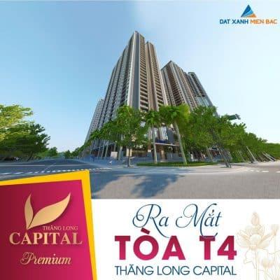 Thăng Long Capital Premium Tòa T3 và T4 Siêu đẳng cấp !