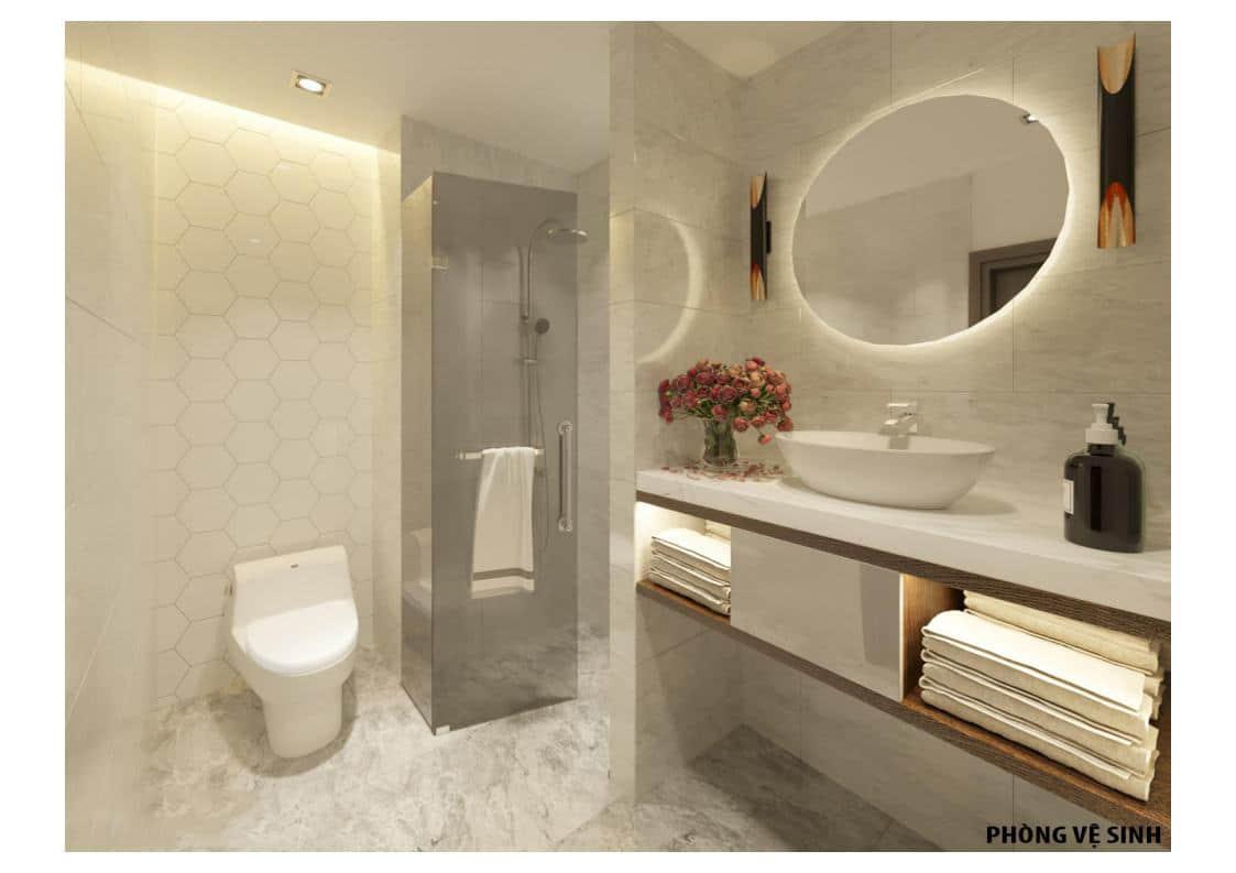 Phòng ngủ Tắm Căn A Dự án The Legacy 106 Ngụy Như Kon Tum