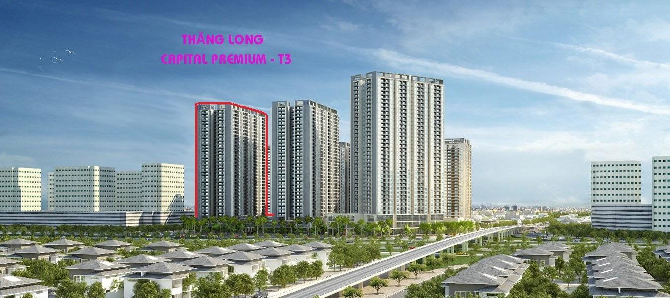 Phối cảnh Dự án Thăng Long Capital Premium