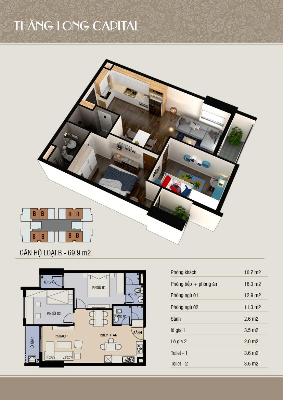 thiết kế 3d căn b
