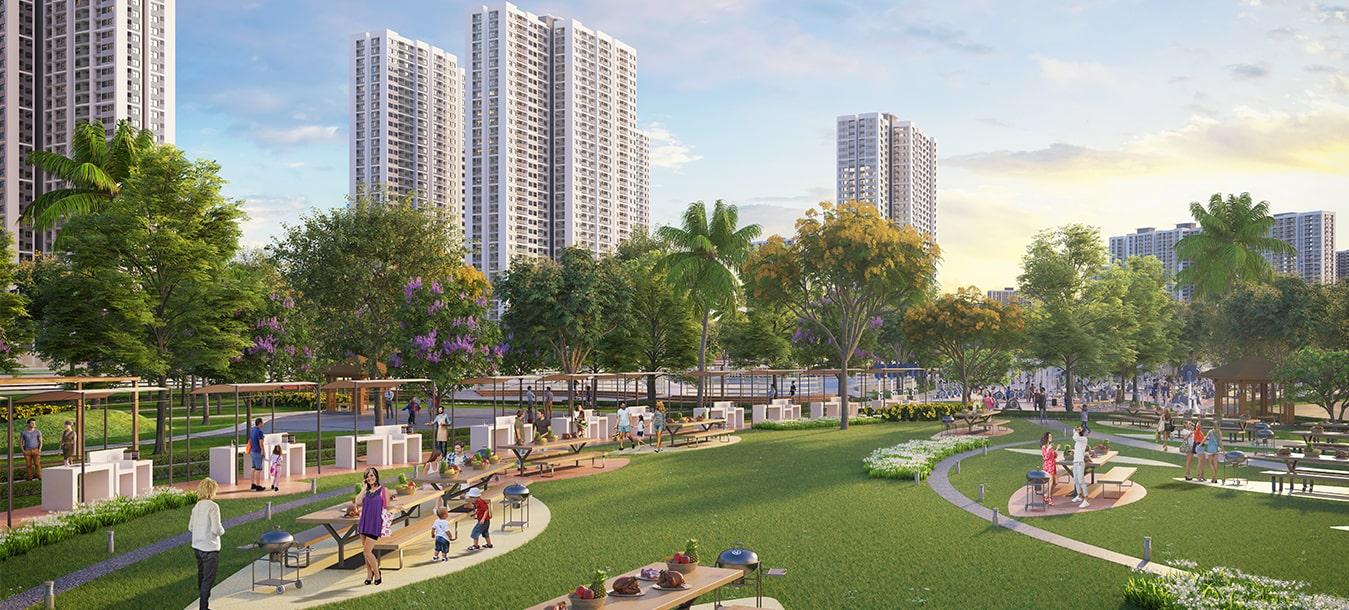 Dự án Vinhomes Smart City Tây Mỗ Đại Mỗ một góc