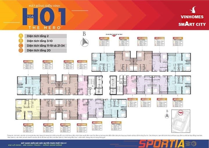 Dự án Vinhomes Smart City Tây Mỗ Đại Mỗ tòa H01