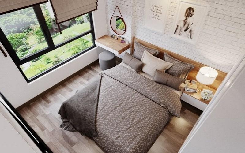 Minh họa nội thất phòng ngủ Dự án Green Pearl Bắc Ninh