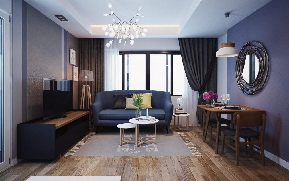 Minh họa nội thất phòng khách Dự án Green Pearl Bắc Ninh