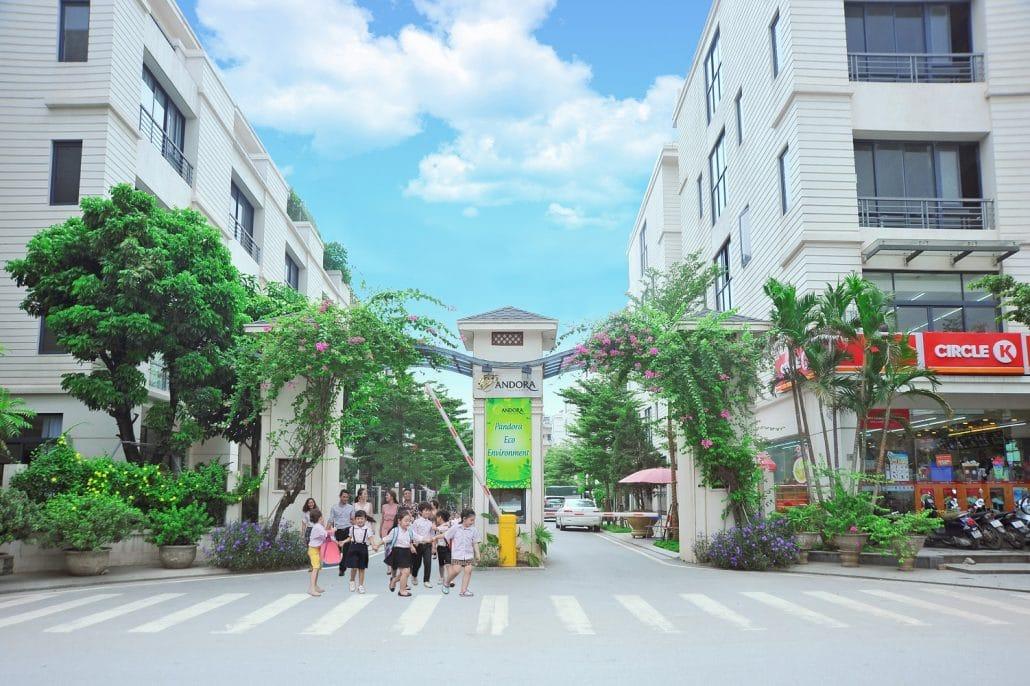 Cổng chào Dự án Pandora 53 Triều Khúc