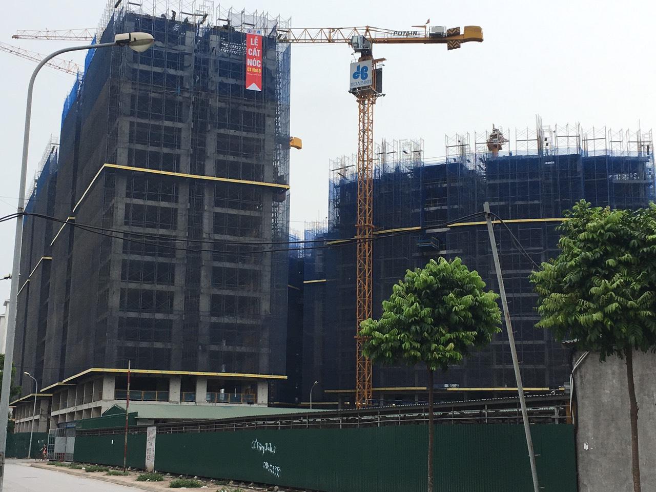 Ảnh thực tế Dự án Chung Cư BRG No15 No16 Sài Đồng