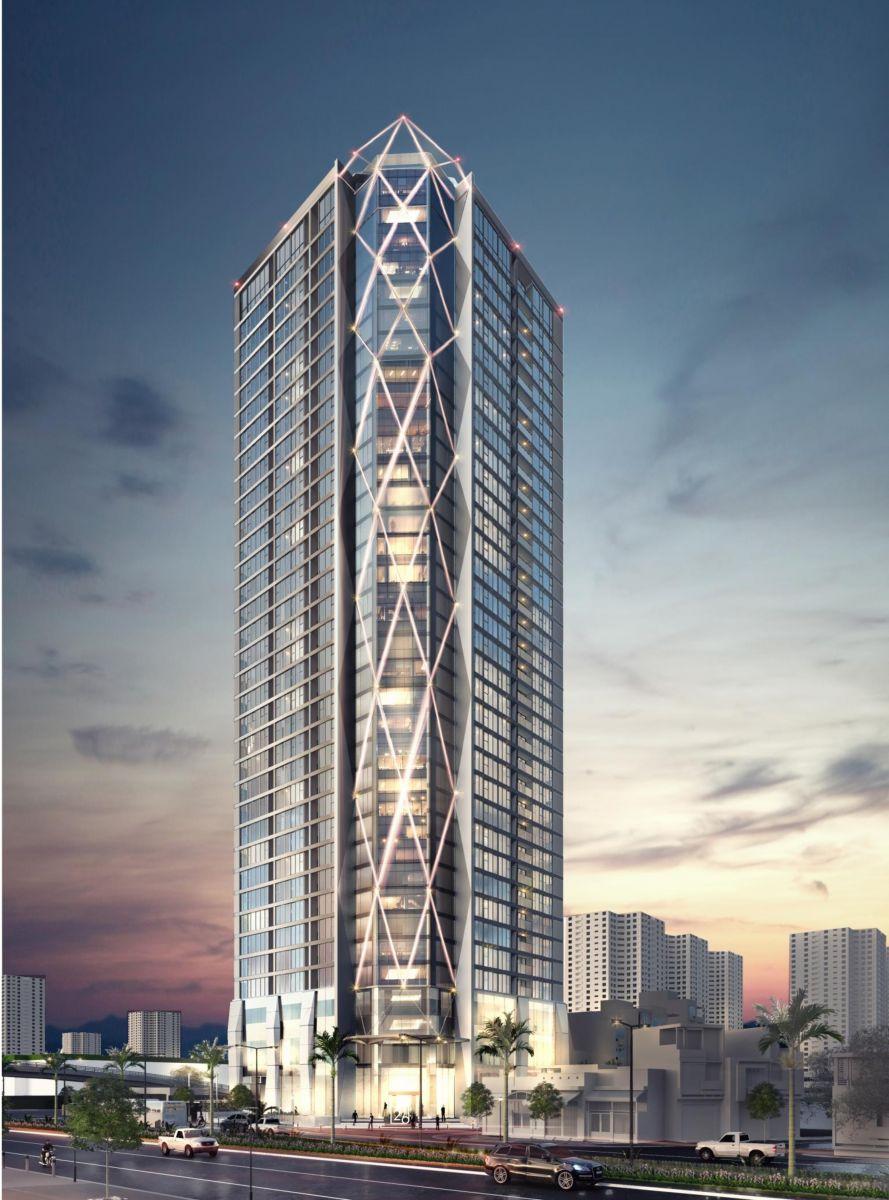 Dự án Summit Building 216 Trần Duy Hưng mặt chính