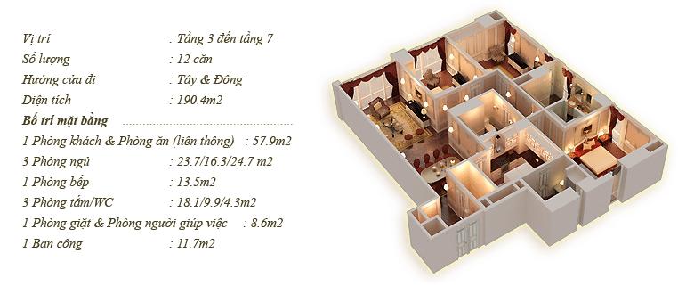 Tân Hoàng Minh Nguyễn Văn Huyên D'.Palais de Louis căn Bamax