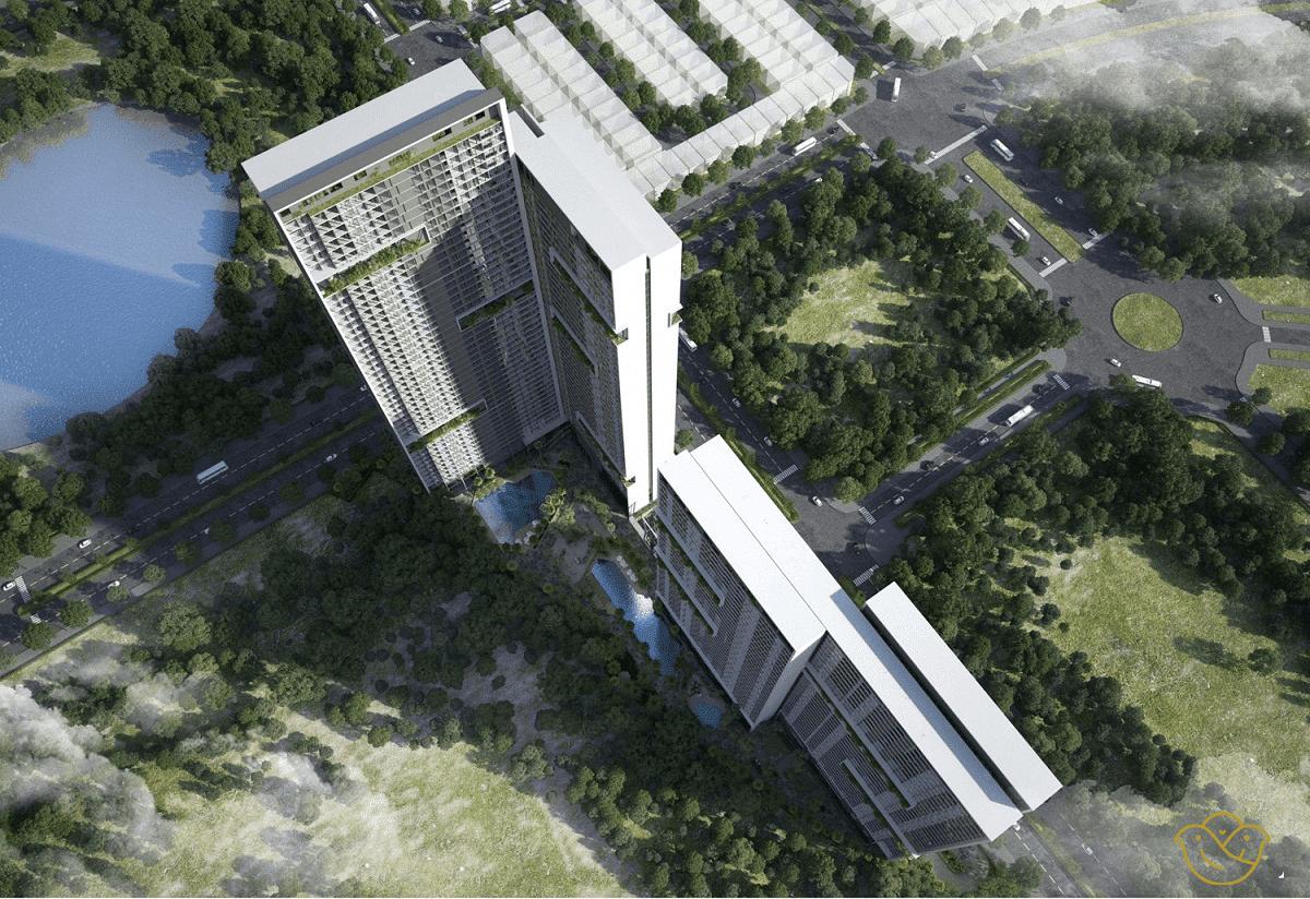 Dự án Chung cư Anland Lake View Dương Nội flycam dự án