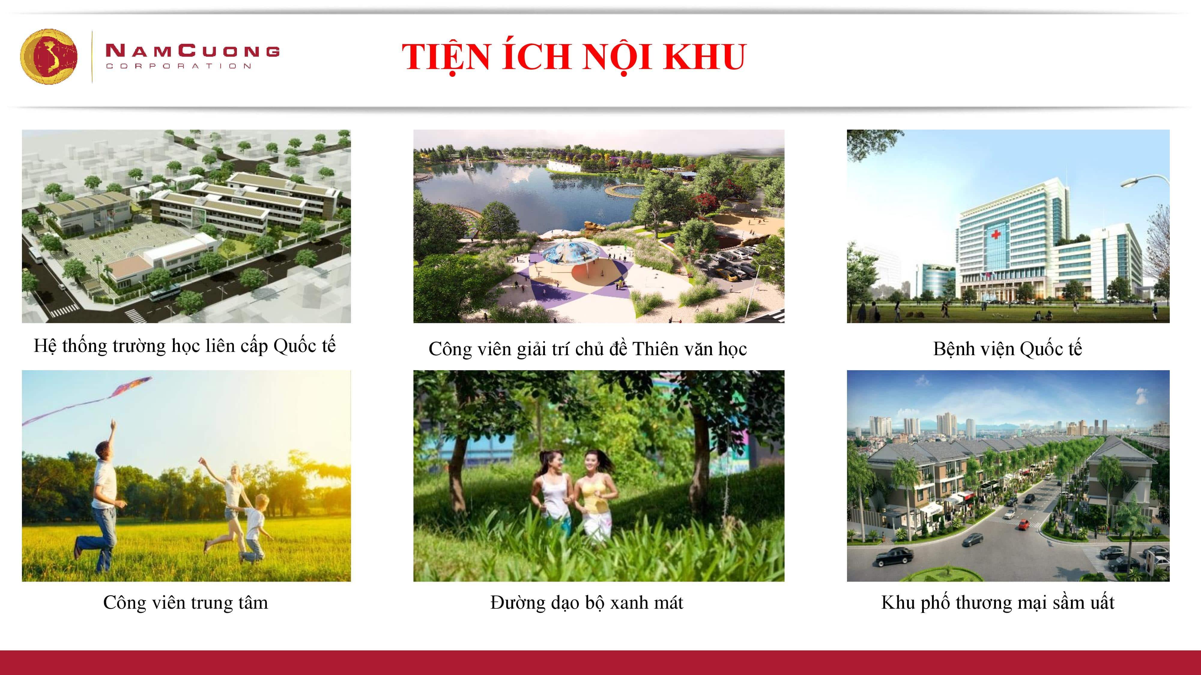 Dự án Chung cư Anland Lake View Dương Nội tiện ích nội khu
