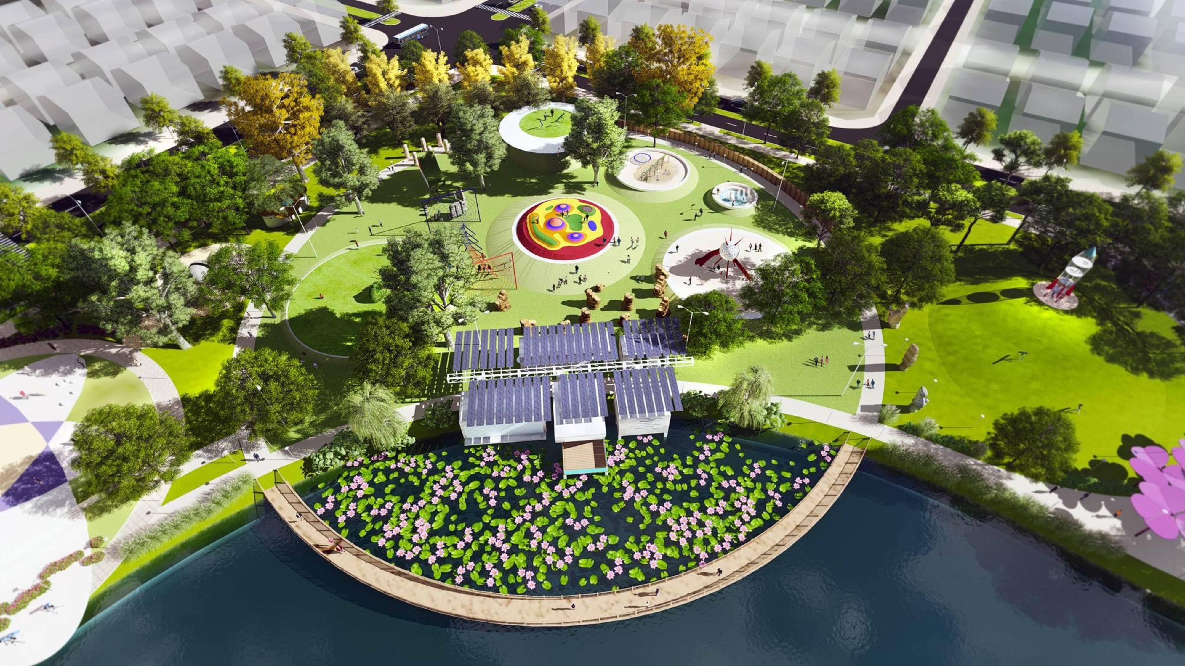 Dự án Chung cư Anland Lake View Dương Nội view công viên thiên văn học