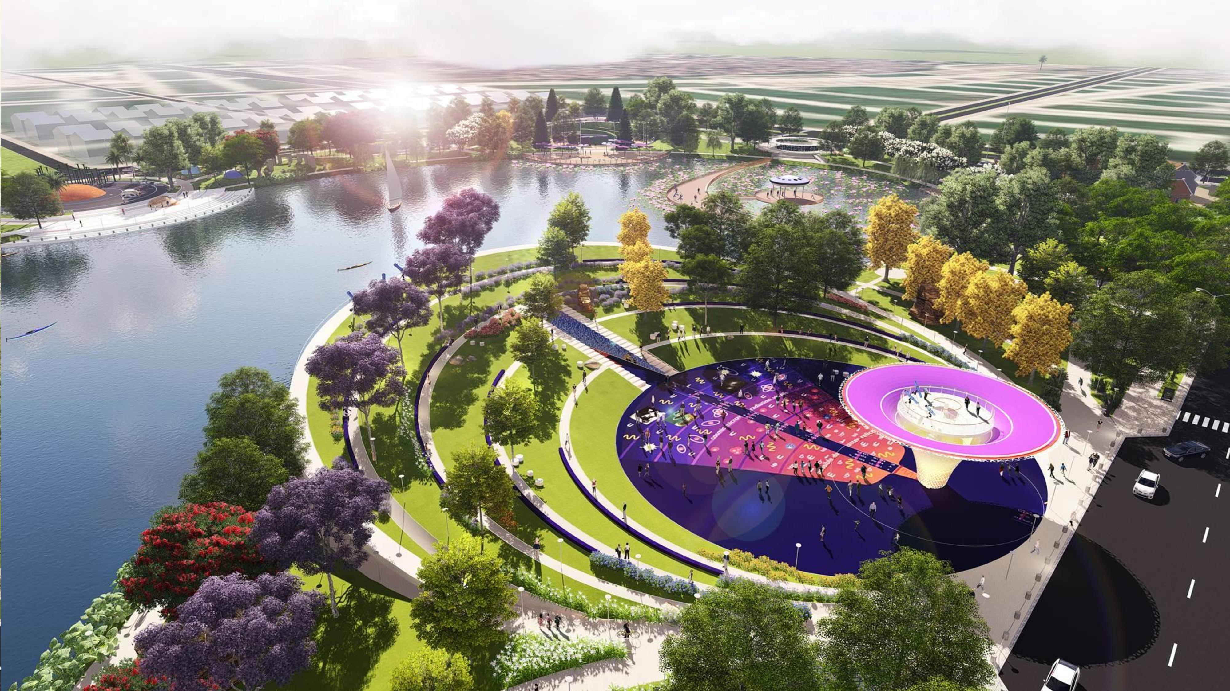 Dự án Chung cư Anland Lake View Dương Nội hồ bách hợp thủy