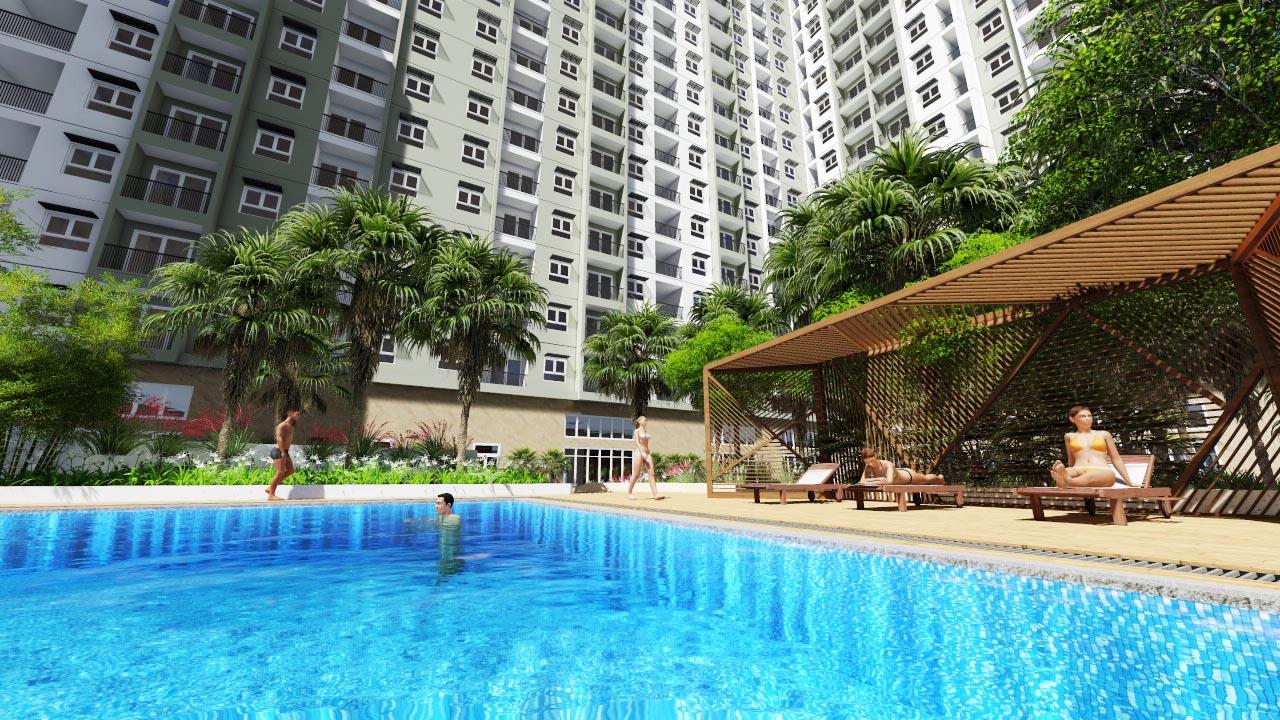 bể bơi Dự án Chung cư Athena Complex Pháp Vân 161 Ngọc Hồi