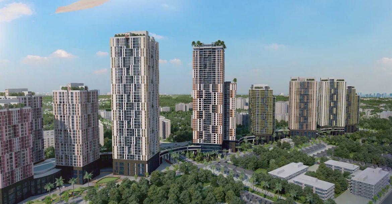 Dự án Chung cư BID Residence Văn Khê Hà Đông phối cảnh kđt văn khê