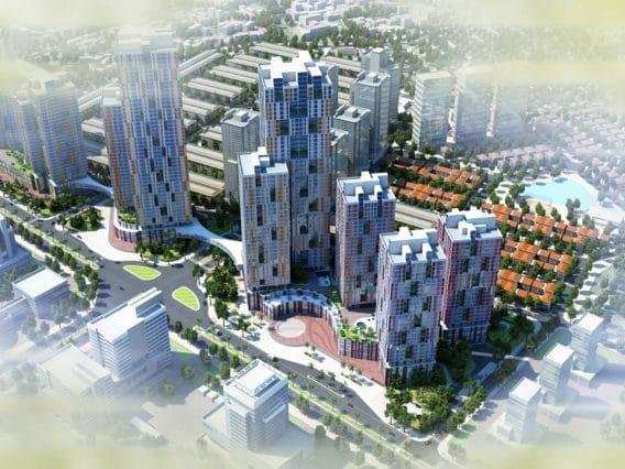 Phối cảnh Thiết kế Dự án BID Residence Văn Khê - Hà Đông