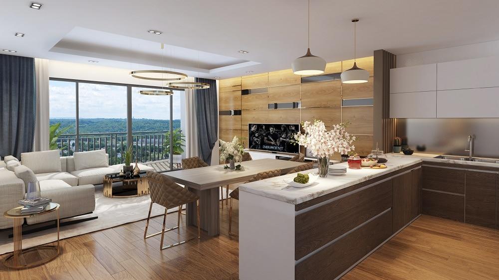 Bếp Dự án Chung cư Bid residence Văn Khê Hà Đông
