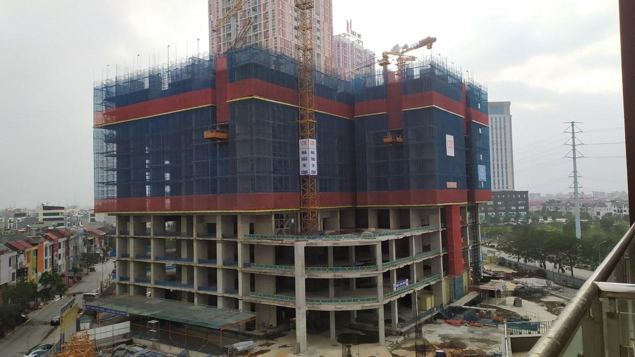 Cập nhật tiến độ thi công BID Residence tháng 2 năm 2020: Tầng 14