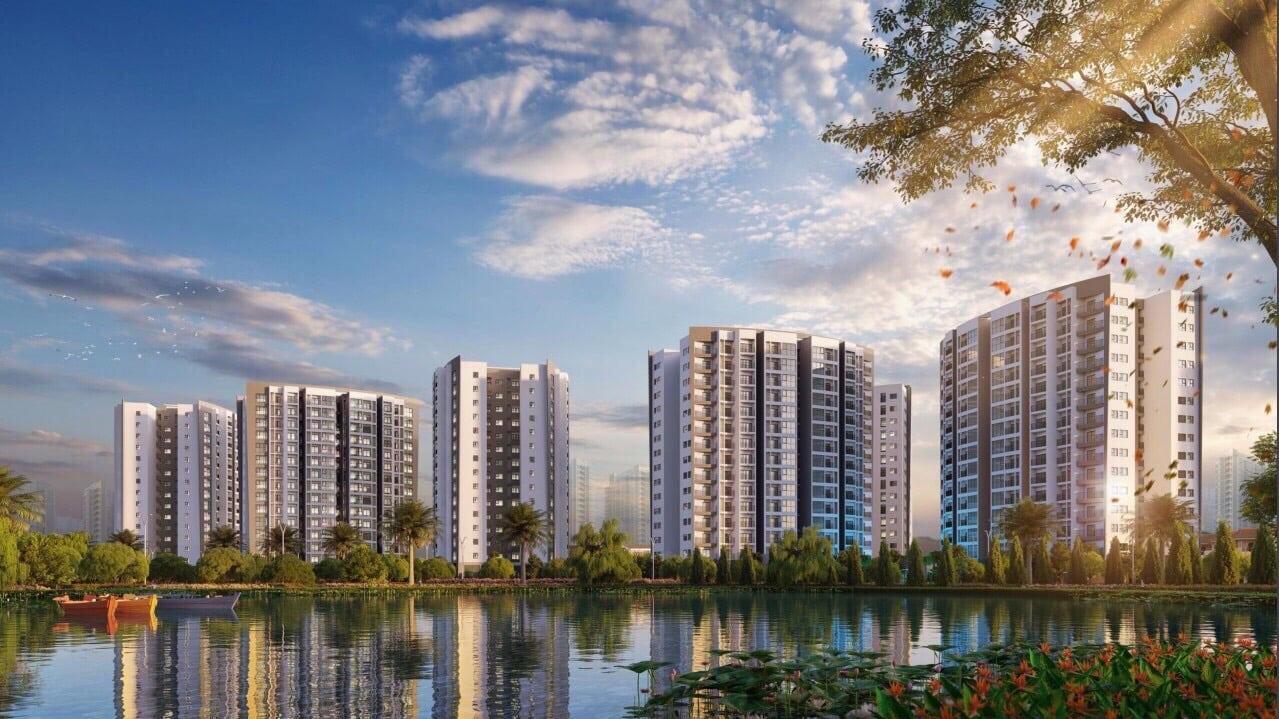 Phối cảnh Tổng thể Dự án Le Grand Jardin Sài Đồng