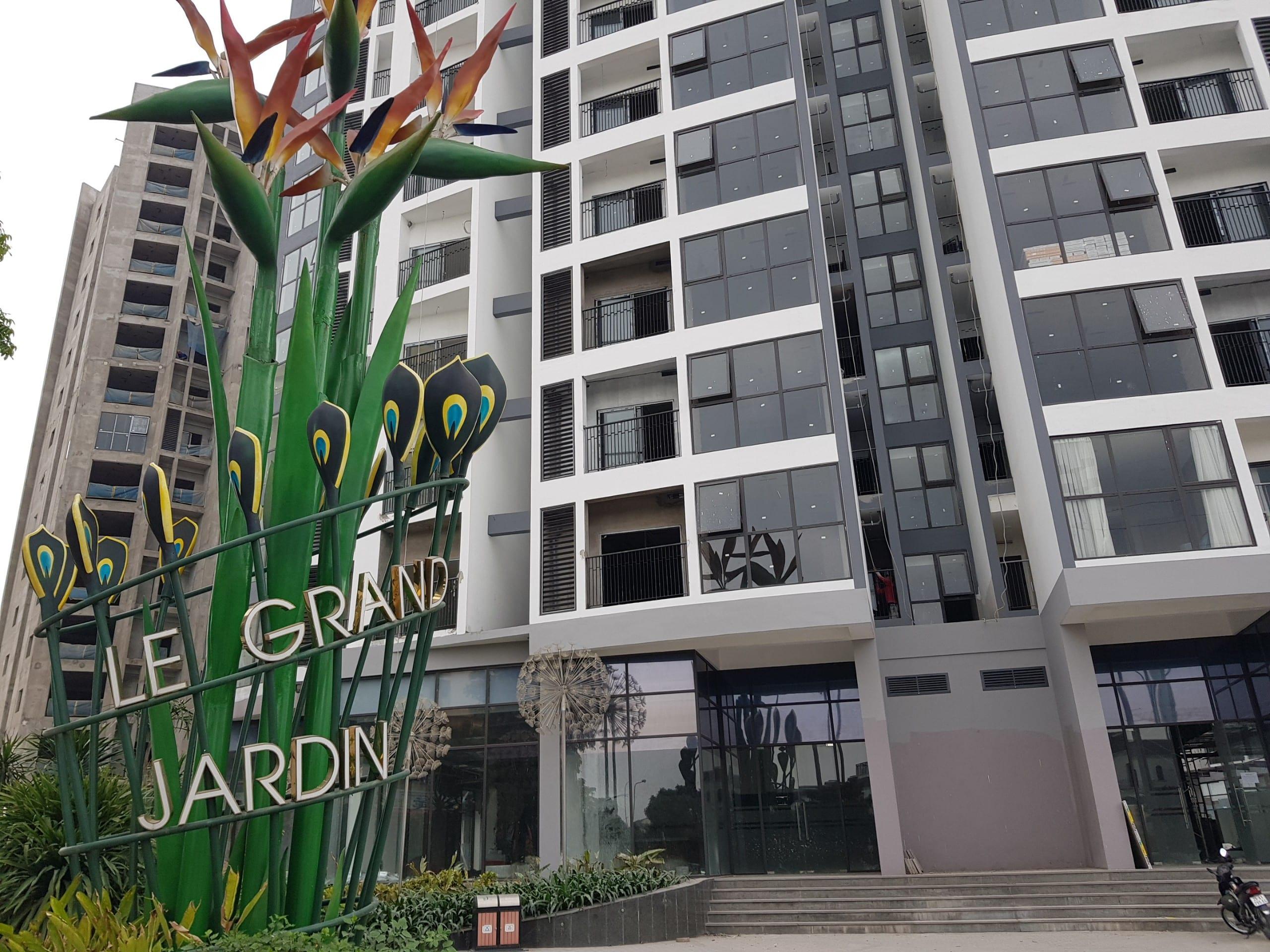 Dự án Le Grand Jardin G3 tháng 4 năm 2021