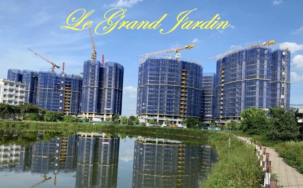 Le Grand Jardin Sài Đồng đang hoàn thiện