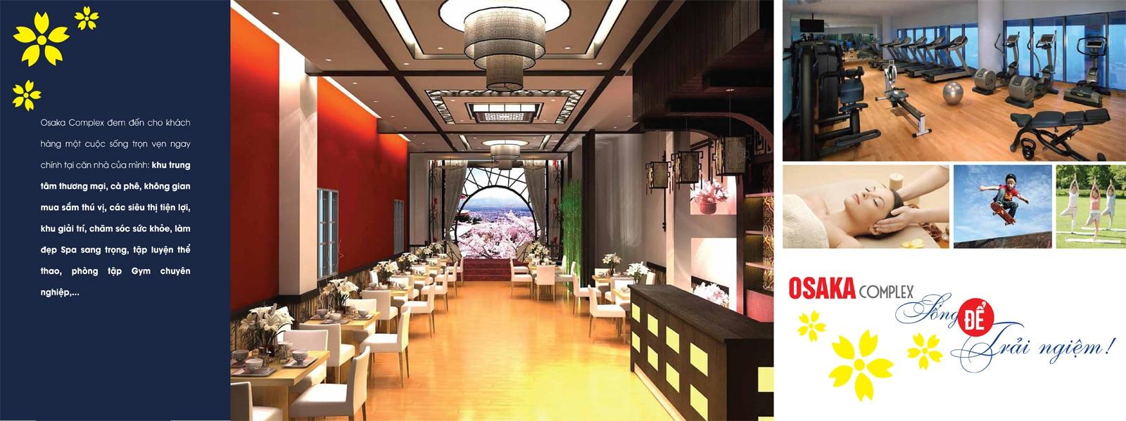 Chung cư Osaka Complex 48 Ngọc Hồi mở bán Tòa Osaka Skyline Complex tiện ích cao cấp