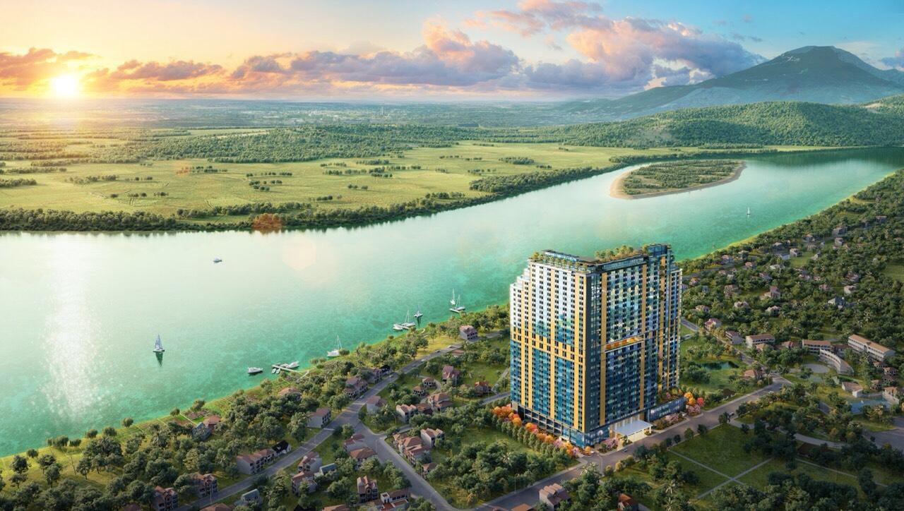 Condotel Wyndham Thanh Thủy view Tản Viên, Ba Vì, Sông Đà panorama