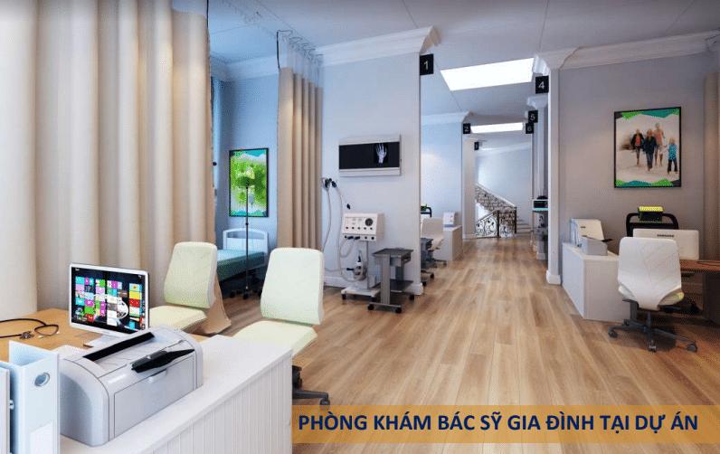 phòng khám bác sỹ dự án Tây Nam Kim Giang